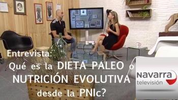 Entrevista a Luis Pelluz en Navarra TV